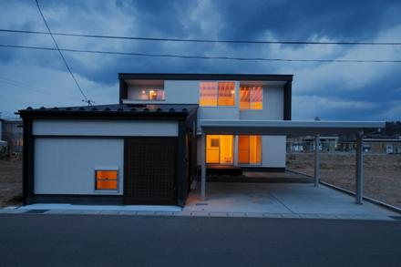 由利本荘の家01