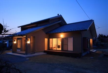 志波姫町の家1・外観
