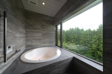 福島の森の家・浴室